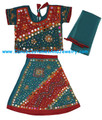 Cotton Lehenga Choli Bollywood dance dress RdGr