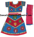 Cotton Chaniaya / Lehenga Choli Bollywood dance dress PiBu