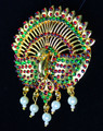 Temple Jewelry Peacock design Rakodi
