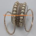 Fashion jewelry costume bangles CR932WHT