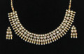 Traditional style costume jewelry necklace with Earrings