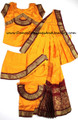 Bharatanatyam dance dress readymade Apoorva silk YelMur26K