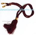 Choker necklace thread