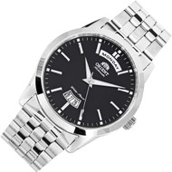 Orient Union Automatic Black Dial Mens Dress Watch FEV0S003B EV0S003B