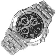 Seiko Chronograph Quartz Analog Mens Dress Watch SNA525P1