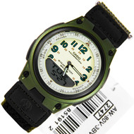 Casio Youth Series Green Mens Sports Watch AW-80V-3BVDF AW80V