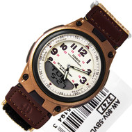 Casio Youth Series Brown Mens Sports Watch AW-80V-5BVDF AW80V