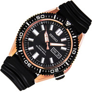 Seiko Automatic Black Dial Diver Mens Watch SKZ330J1 SKZ330J SKZ330