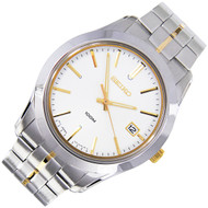 Seiko Quartz Two-Tone Mens Sports Watch SGEE45P1 SGEE45P SGEE45