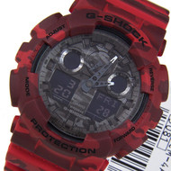 Casio G-Shock Camouflage Quartz Watch GA-100CM-4A GA100CM