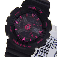 BA-111-1A BA-111-1 Casio Baby-G Black LED Light Watches