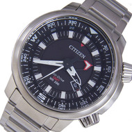 Citizen BJ7081-51E Promaster Eco-Drive GMT 200m Mens Pilots Watch