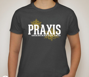 Ladies T-shirt — Charcoal