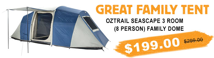 Oztrail Seascape Family Tent  sc 1 th 117 & Camping Central offers best camping gear at best prices and fast ...