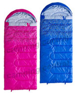 Caribee Moonshine Kids Jr Hooded Sleeping Bag - Twin Pack