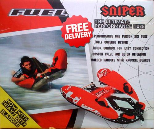 Camping Central Sells Fuel Sniper Surf Ski Tube Biscuit
