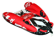 Fuel Sniper Surf Ski Tube Biscuit Inflatable - (Angle View)