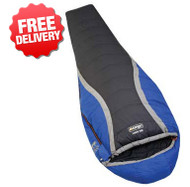 Vango Viper 500 Compact Down Sleeping Bag -18 Celcius - (Color Blue & Black)