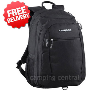 "Caribee Data Pack 15"" Laptop Backpack Daypack Bag - Front View"