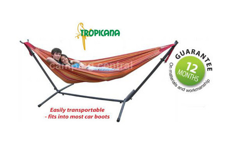 Double Hammock Stand Frame - 2.0 x 1.5 x 1.0m
