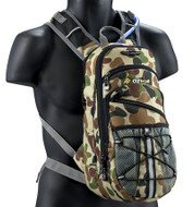 Oztrail Blue Tongue 2 Ltr Camo Army Hydration Pack Backpack