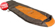 OZtrail Compact 300 Compact Sleeping Bag -5 Cel. (Angle View)