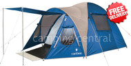 Caribee Kestrel 4 Man Person Dome Tent - (Blue)