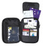 Caribee Travel Grip Passport Wallet Bag Organiser - Actual View