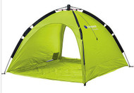 Caribee Beach Tent UV50+ Sun Shelter Pop Up Shade - (Lime)