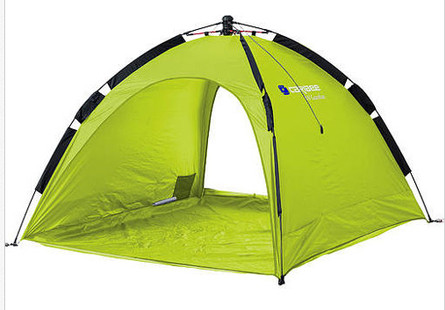 Caribee Beach Tent UV50+ Sun Shelter Pop Up Shade - (Lime)