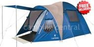 Caribee Kestrel 5 Man Family Tent - (Blue)
