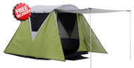 OZtrail Peak 4 Person Man Dome Tent - Front View