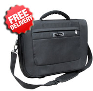 "Caribee Mombasa 17"" Laptop Shoulder Bag for Business - Front View"