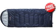 Caribee Glacial Bay 230 x 85cm Jumbo Sleeping Bag (0˚Cel) - (Top View)
