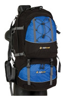 Oztrail Discovery 75 Lt Backpack Travel Pack Hiking Bag - Colour Blue