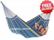Siesta Brazilian Double Cotton Hammock - 160 x 225cm With Free Shipping