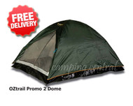 OZtrail Compact Dome Hiking 2 Person Tent / Only 2kg