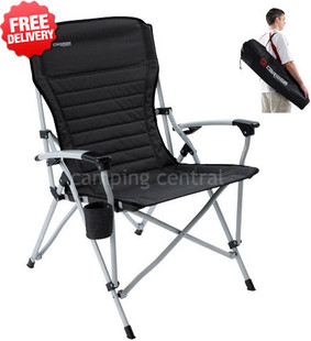 Caribee Cross Over Portable Camping Picnic Arm Chair - With Free Shipping