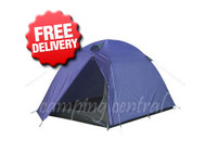 Caribee Super 2 Man Person Compact Hiking Tent - Front View