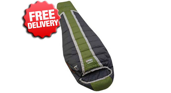 Vango -10 Celcius Venom 225  Compact Down Sleeping Bag - (Top View)