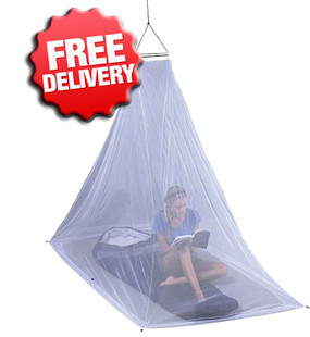 Equip Treated Mozzie Mosquito Net - Single 1-Person