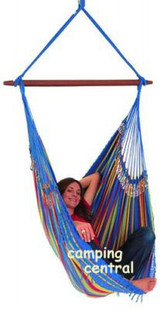Deluxe Brazilian Hammock Chair 125 x 150cm - (Front View)