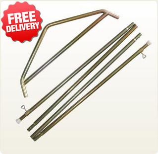 OZtrail Tourer 9 & 10 Plus Canvas Tent - Side Pole Kit
