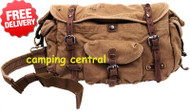 Kakadu Traders Canvas Shoulder Carry Bag Backpack - With Free Shipping