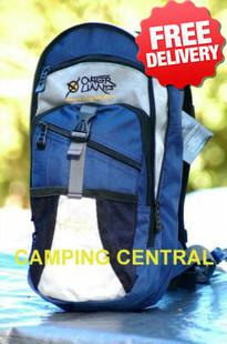 OZtrail Blue Tongue 2 Ltr Hydration Pack Backpack - Front View