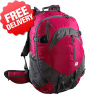 Caribee Short Hop 55 Ltr Backpack Travel Pack Bag - Front View