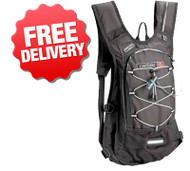 Caribee Aqua 2 Ltr Hydration Pack Backpack and Bladder - Front View