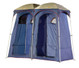 OZtrail Shower Tent Ensuite Duo Change Room Toilet - Angle View