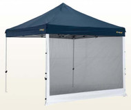 OZtrail Deluxe Gazebo Pavilion Mesh Side Wall - 3 metres (Angle View)