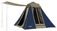 OZtrail Tourer 9 Canvas Touring Tent - (Side View)